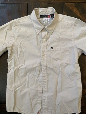 Boys Quicksilver Button Short Sleeve Shirt! Size M 12/14 for Sale in Chino Hills, CA