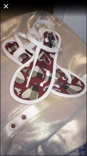 Burberry Sandals size 10 for Sale in Portland, OR