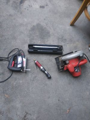 Husky air wrench and skill saw and ha d saw for Sale in El Monte, CA