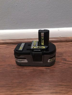 RYOBI 18-Volt ONE+ LITHIUM-Ion 3.0 Ah LITHIUM+ HP HIGH CAPACITY BATTERY for Sale in Greenacres, FL