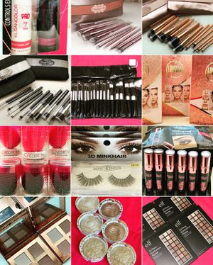 Beauty Products: eyeshadow,brushes,eyelashes,highlight,beauty blenders and more! for Sale in Avondale, AZ