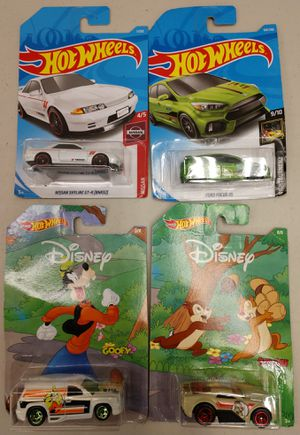 HOT WHEELS COLLECTIBLE CARS - SET OF FOUR N.I.B. for Sale in Milton, WA