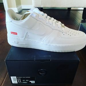 Supreme Air Force 1 - Size 11 for Sale in Gaithersburg, MD