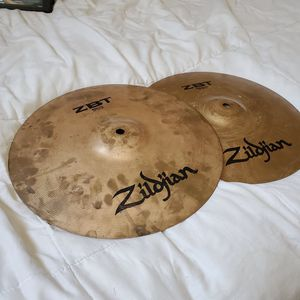 Zildjian ZBT hihats for Sale in El Paso, TX