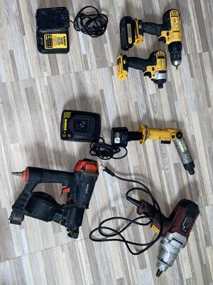 Dewalt and a roofing nail gun for Sale in The Bronx, NY