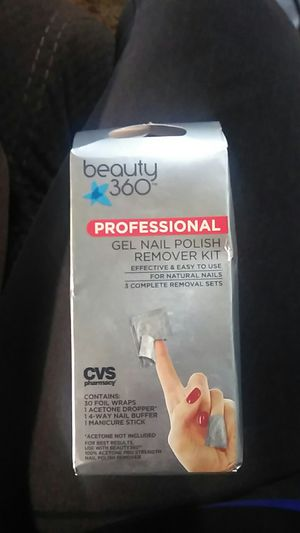 Beauty 360 gel nail polish remover kit for Sale in Westminster, CA