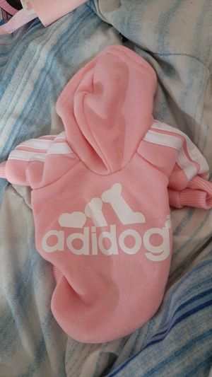 Female dog pink and white hoodie for Sale in Valley View, OH