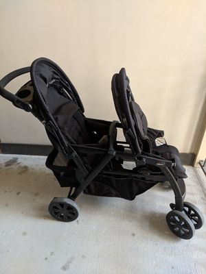 Chicco Cortina Together Double Stroller for Sale in Chesapeake, VA
