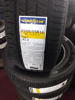 Set of new Goodyear eagle P205/55R16 for Sale in Tustin, CA