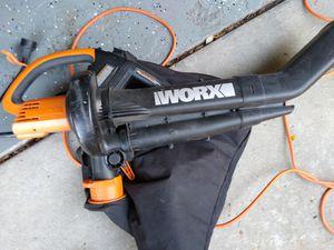 Works leaf blower vacuum for Sale in Bloomingdale, IL