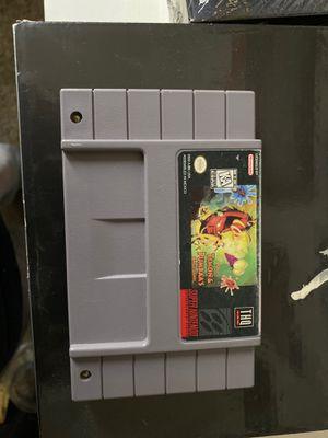 Timon & Pumbaas Super Nintendo Game for Sale in Las Vegas, NV