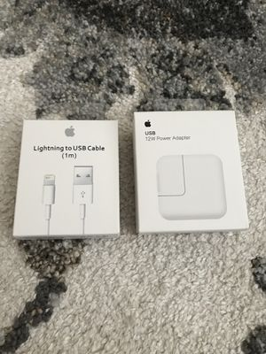 Apple IPhone 12w and 1m Charger Set for Sale in Sacramento, CA