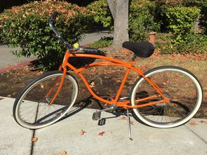 1956 Original Schwinn Corvette Cruiser Orange Vintage / Antique Everything on this bike is original except the seat. Brand new paint. Painted the o for Sale in Los Altos Hills, CA