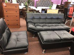 3PC futon set for Sale in Nashville, TN