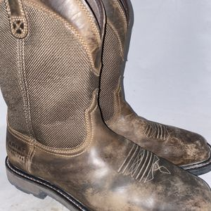 Men Preowned Ariat Work Steel Toe Boot Size 10.5 for Sale in Chula Vista, CA