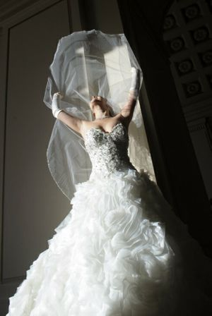Wedding Dress by Allure Couture for Sale in Los Angeles, CA