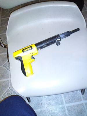 Powder activated nail gun .. DeWalt for Sale in Cleveland, OH
