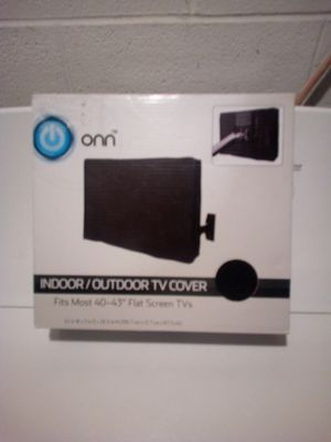 Indoor Outdoor TV Cover For flat screen for Sale in Steubenville, OH