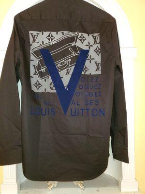 Louis vuitton shirt sz 42 neck sz 16 for Sale in Los Angeles, CA