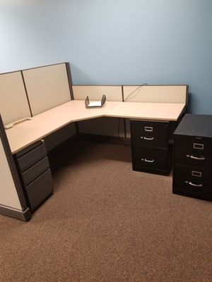 Office cubicles and furniture for Sale in Houston, TX