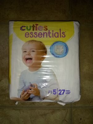 Diapers size 5 for Sale in Buena Park, CA