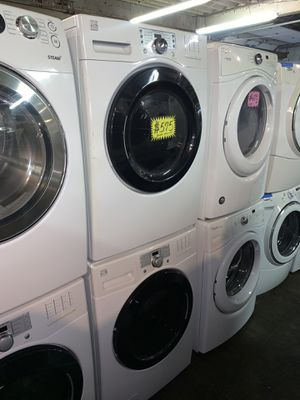 Kenmore front load steam washer and electric dryer set in excellent conditions with 4 months warranty for Sale in Baltimore, MD