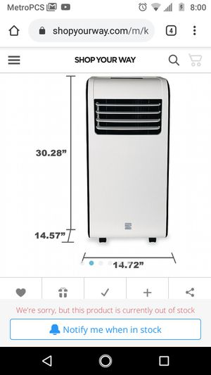 Kenmore Portable AC Unit for Sale in Westminster, CO