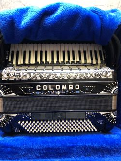Colombo Black Piano Accordion  Make Offer !!! for Sale in Monterey, CA