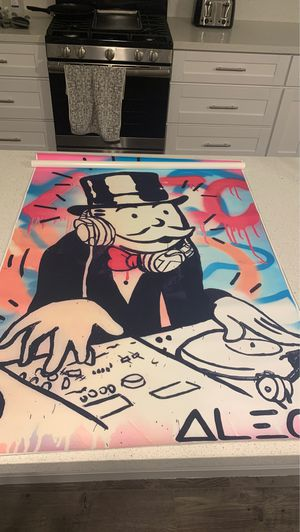 Alec monopoly canvas for Sale in Spring Valley, CA