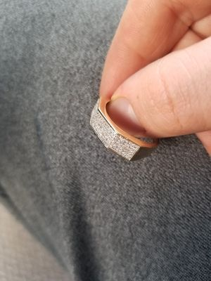 10k gold diamond cluster ring for Sale in Columbus, OH