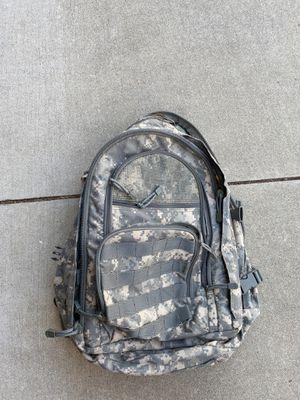 Backpack. MOLLE webbing, ACU digital. Army bag. for Sale in Rancho Cucamonga, CA