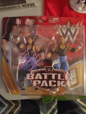 Bret Hart signed battle pack for Sale in Allentown, PA