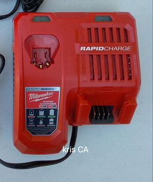 Milwaukee m12/m18 rapid charger for Sale in La Puente, CA