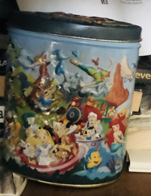 Walt Disney Tin Can Container for Sale in Great Neck, NY
