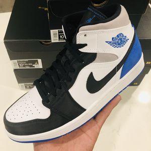"""Jordan 1 Mid SE """"Royal black toe"""" for Sale in Riverside, CA"""