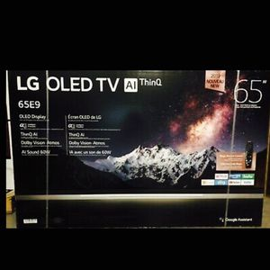 LG 65 inch OLED E9 4K TV smart with warranty oled65E9p for Sale in Los Angeles, CA