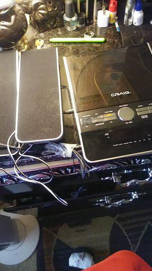 Craig CD player with alarm for Sale in Temple Hills, MD