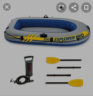 Explorer pro 200 inflatable boat for Sale in Chicago, IL