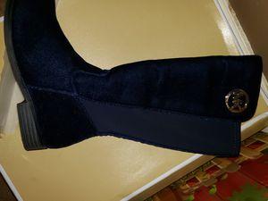 Brand New MK Girls Velour Boot In Blue size 13 for Sale in Ellenwood, GA