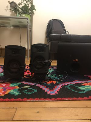 Klipsche 2.1 System Speakers for Sale in Chicago, IL
