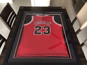 Michael Jordan Chicago Bulls Autographed Signed Framed Jersey PSA/DNA LOA for Sale in Orange, CA