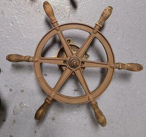 Wilcox Crittenden Ships steering wheel 125.00 for Sale in Stonington, CT