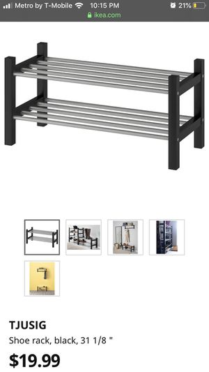 Selling shoe rack from Ikea, already built lightly used for Sale in Union City, CA