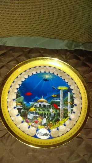 Atlantis plate lol of collection for Sale in Pleasant Hill, IL