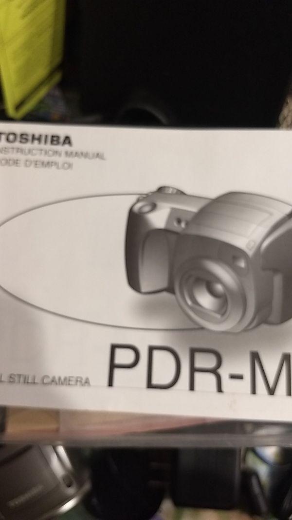 Toshiba pdr-m5 digital camera