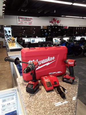 Milwaukee fuel hammer drill and impact set for Sale in Willoughby, OH