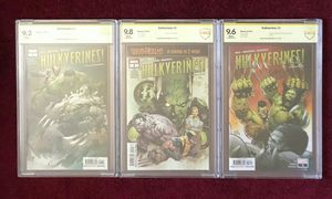 Hulkverines 1-3 signed and graded comic book for Sale in Fort Washington, MD