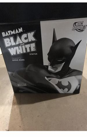 DC Direct Batman Black & White Steve Rude Batman Statue for Sale in Huntington Beach, CA