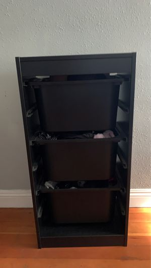 3 unit storage drawers for Sale in Norwalk, CA
