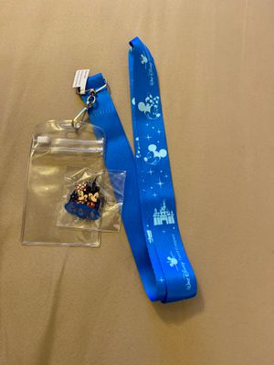 Disney pin and lanyard new for Sale in Las Vegas, NV